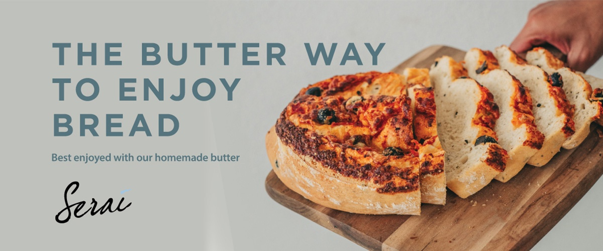 The butter way to enjoy bread, catering Malaysia